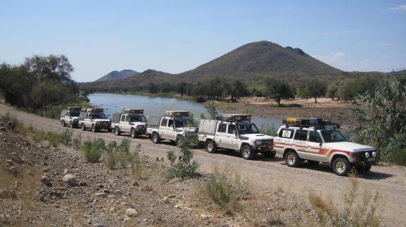 Raid 4x4 himbas etosha namibie 036