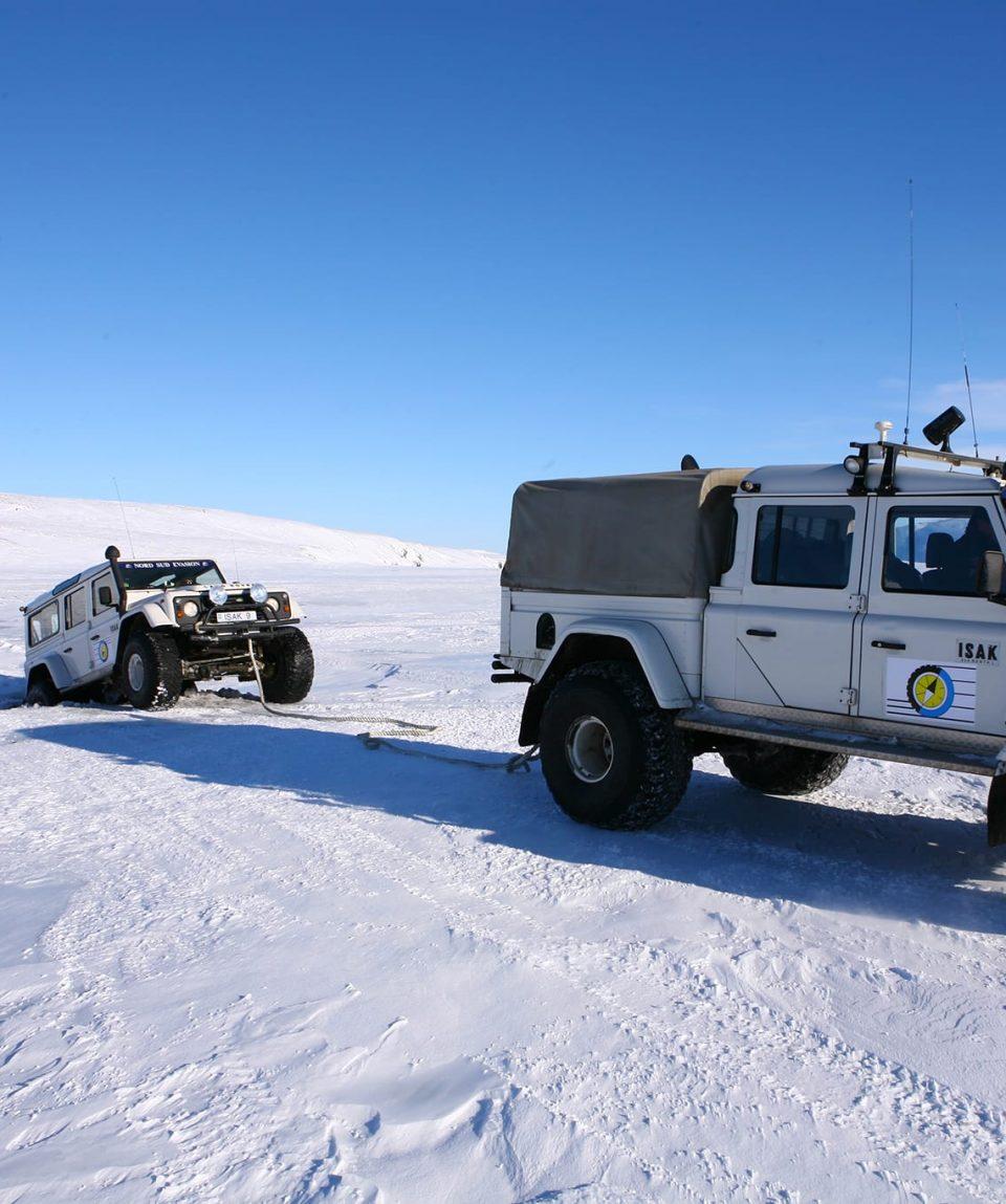 Raid 4x4 Glacier Baroud Islande Europe 12
