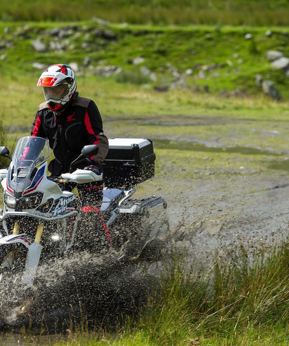 Raid moto Europe Russie